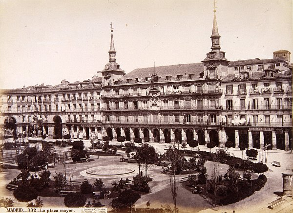 La Plaza Mayor. 1879
