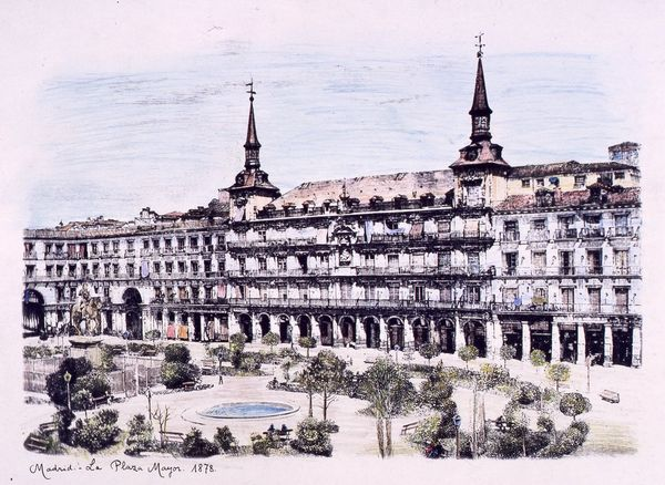 La Plaza Mayor. 1878