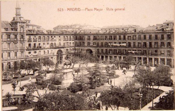 Plaza Mayor. Vista general