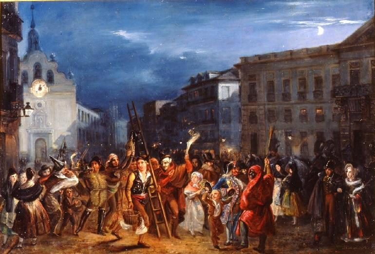 La noche de Reyes en la Puerta del Sol