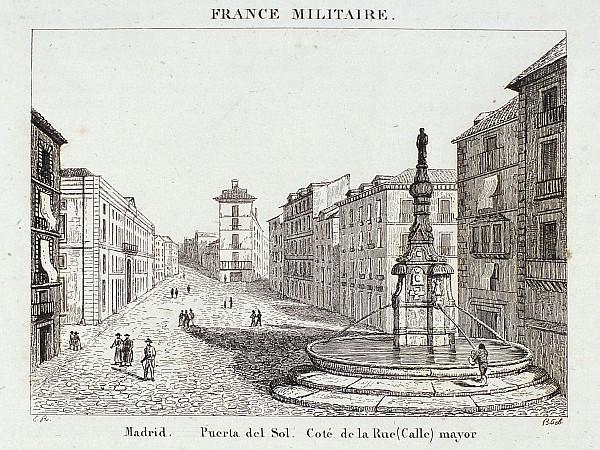 La Puerta del Sol desde la calle Mayor