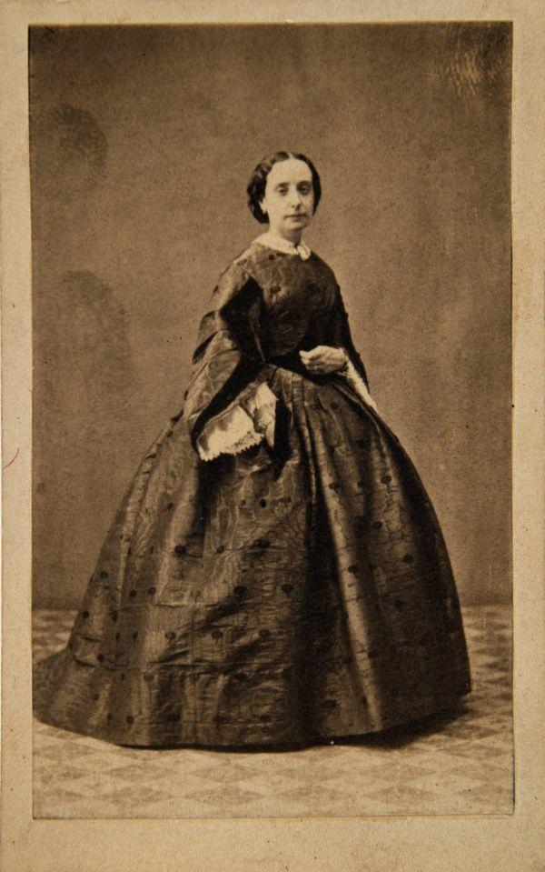 Luisa de la Vega-Inclán y Palma, esposa de Lucio del Valle y Arana