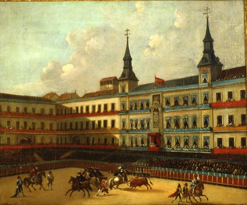 Fiesta real de toros en la Plaza Mayor
