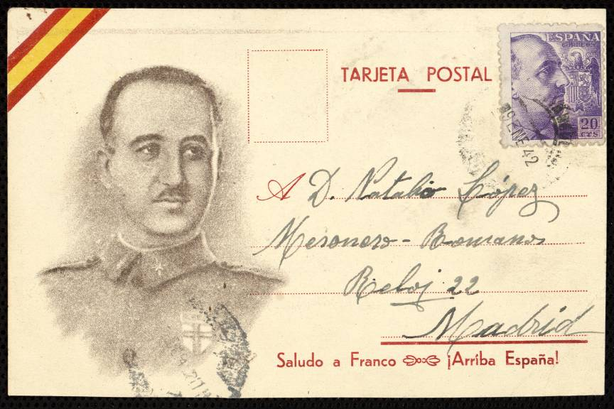 Retrato de Francisco Franco