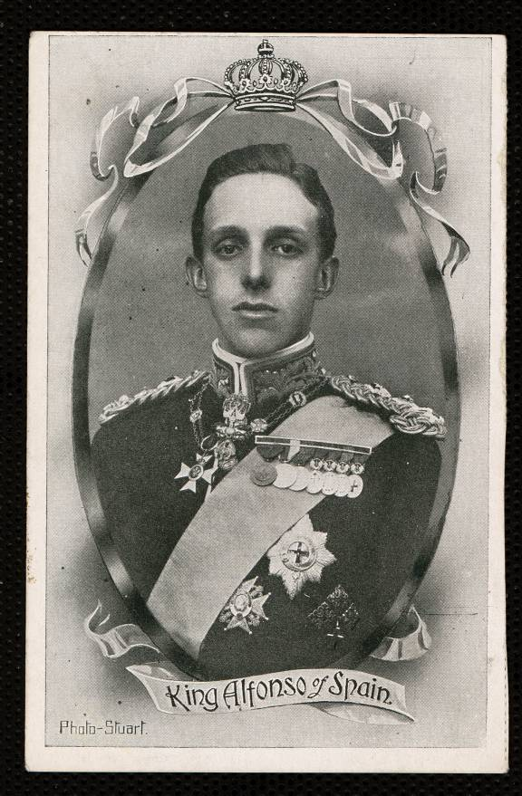 King Alfonso of Spain