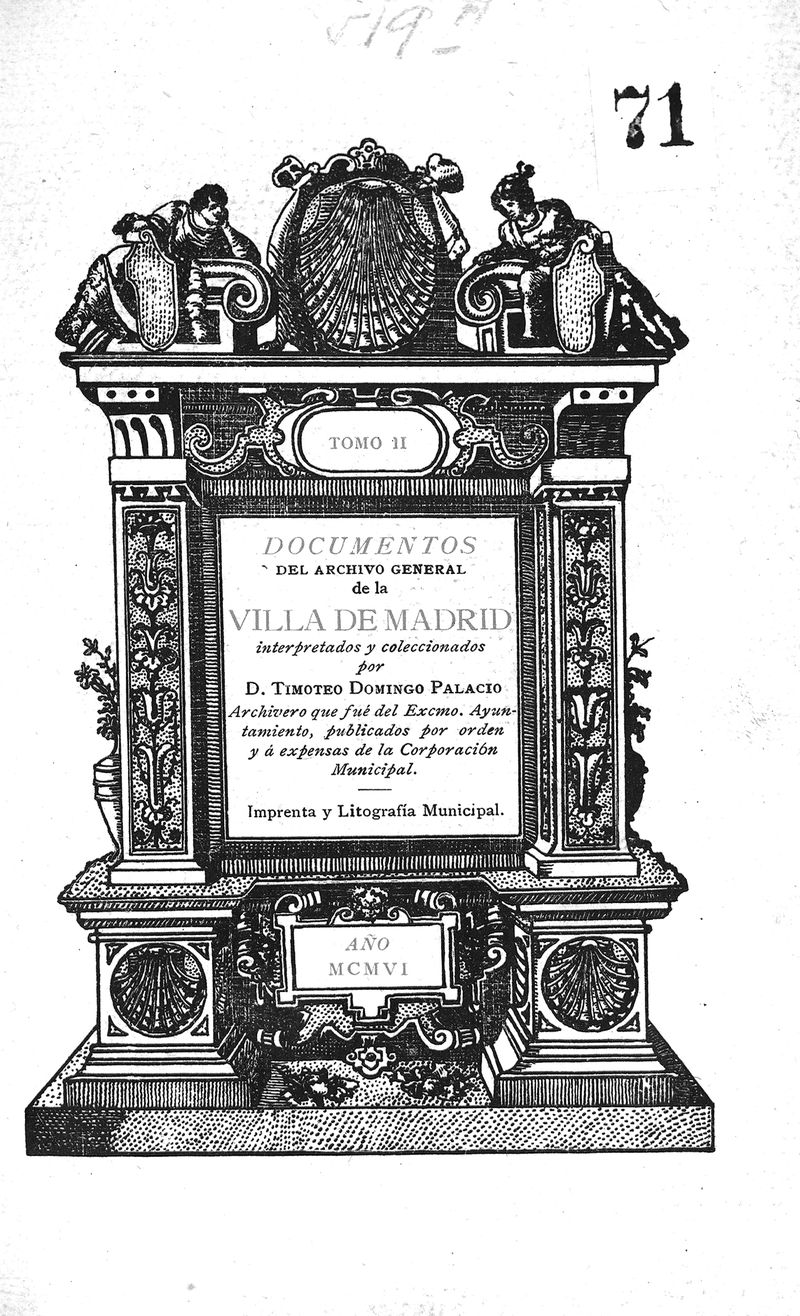 Documentos del Archivo General de la Villa de Madrid. II