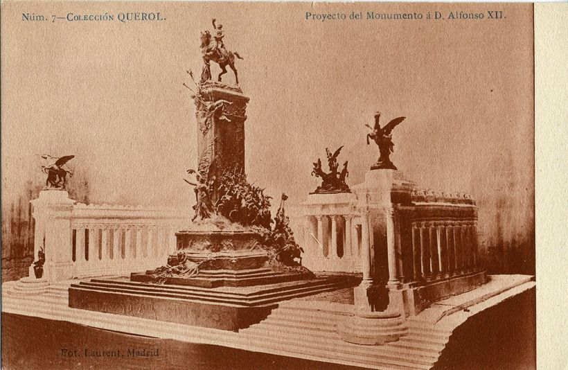 Proyecto del Monumento a D. Alfonso XII