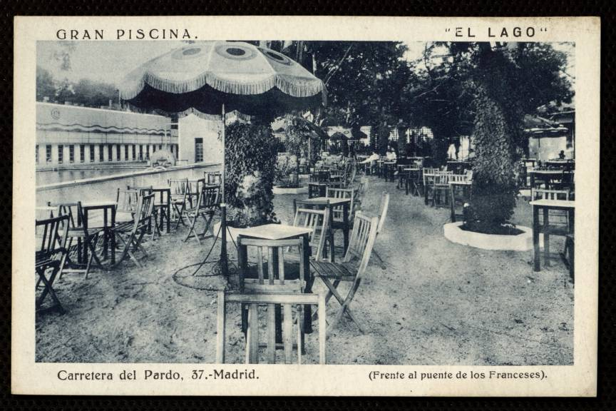 Memoria de madrid for Piscina lago madrid