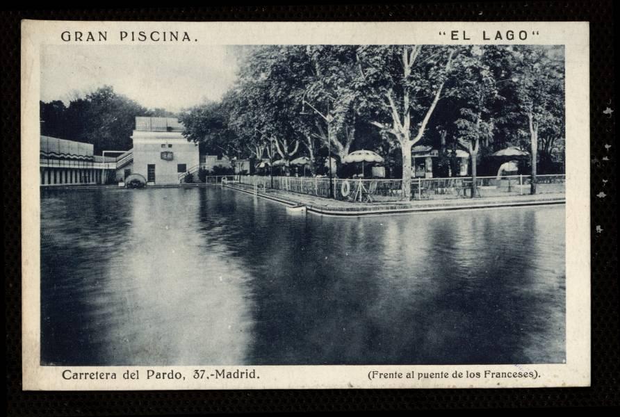Memoria de madrid for Piscina de lago madrid