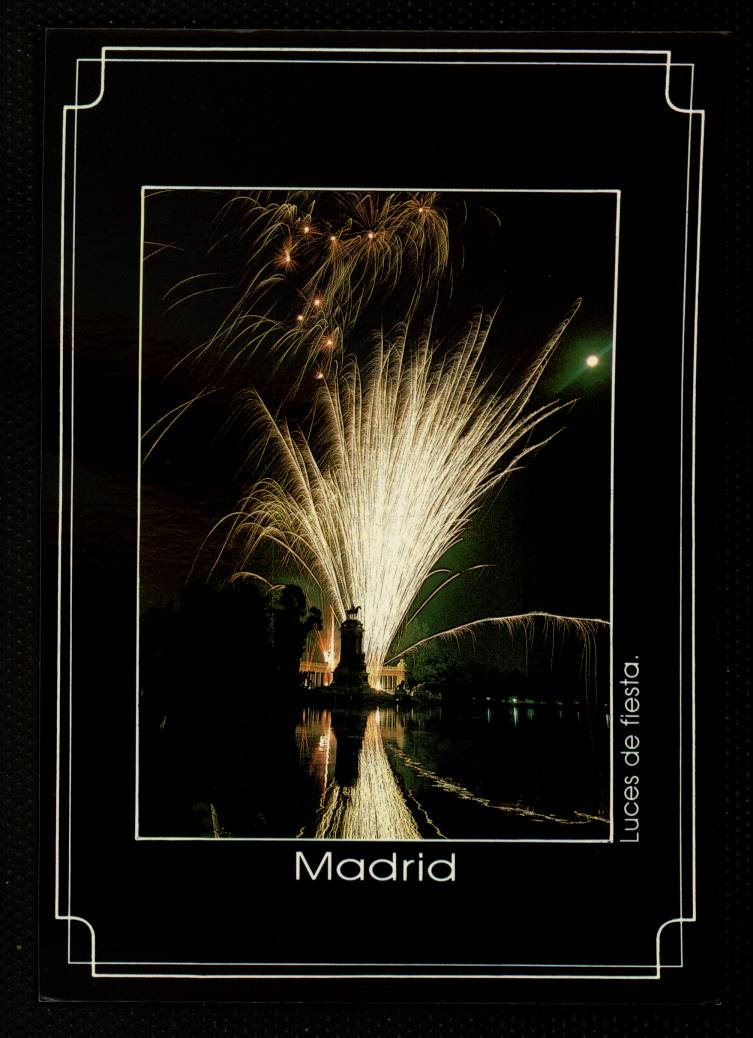 Madrid. Luces de fiesta