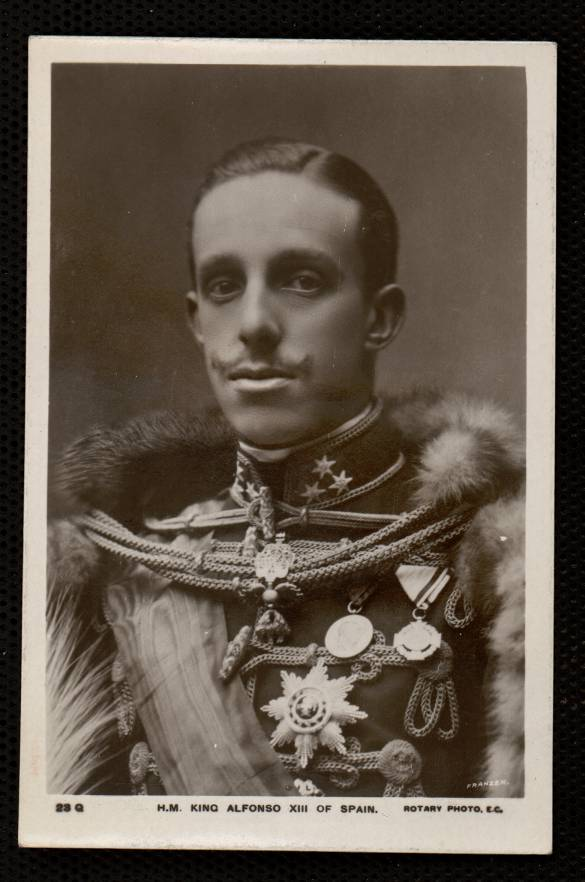 H. M. King Alfonso XIII of Spain