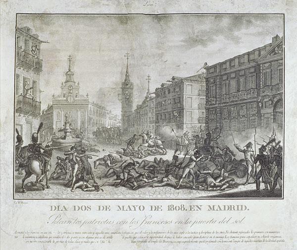 Sucesos del Dos de Mayo de 1808 en la Puerta del Sol