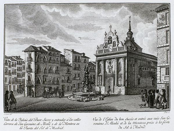 Vista de la Iglesia del Buen Suceso