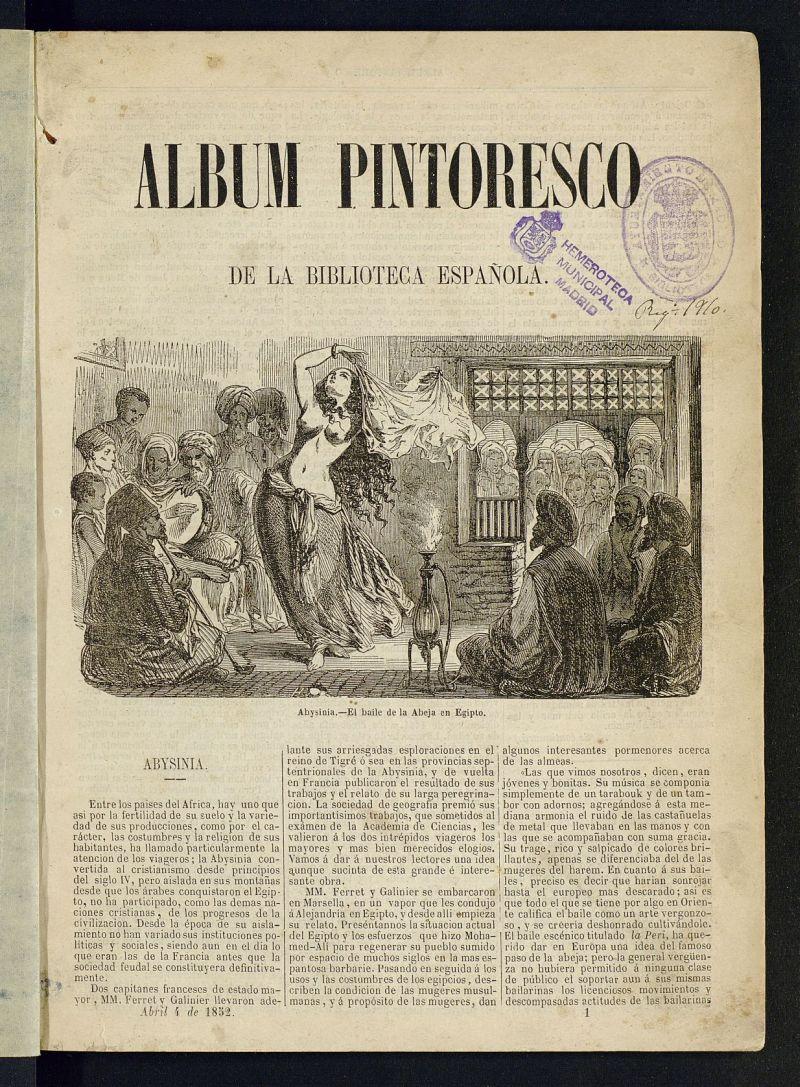 Álbum Pintoresco de la Biblioteca Española