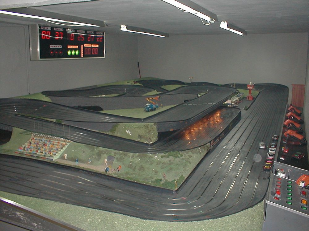 Scalextric del Bar Pepote