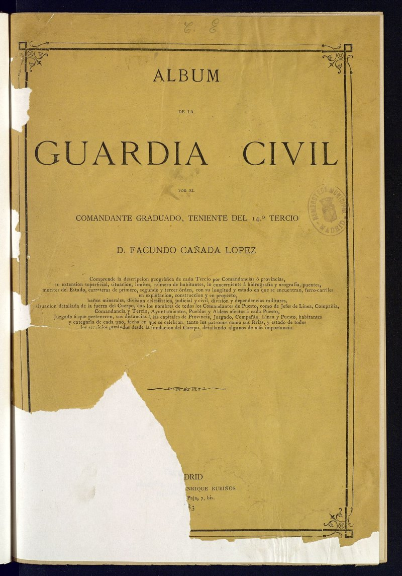 Álbum de la Guardia Civil
