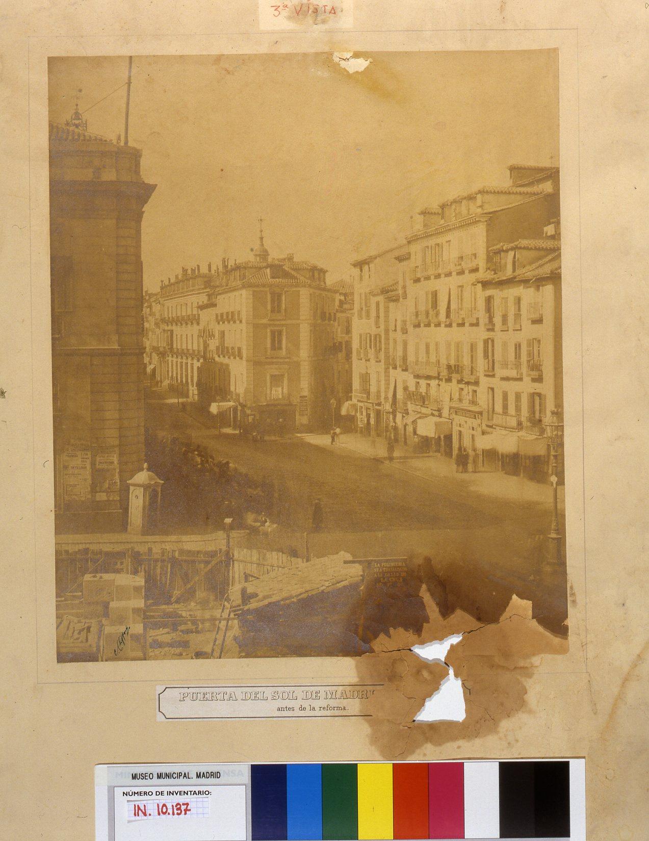 Puerta del Sol antes de la reforma