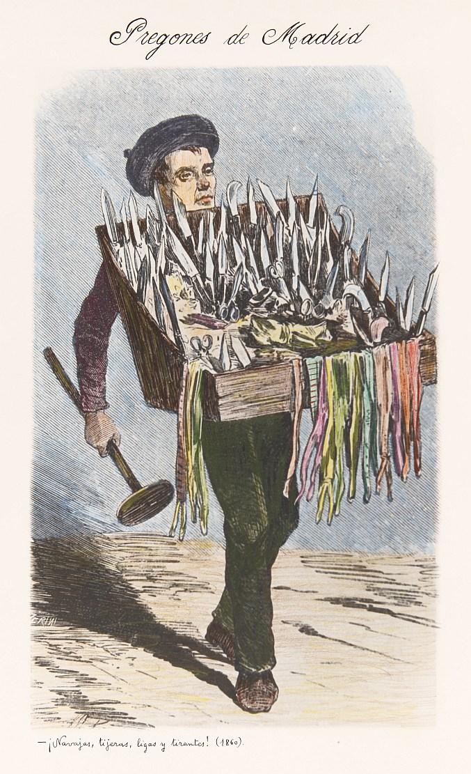 El vendedor de navajas y tijeras