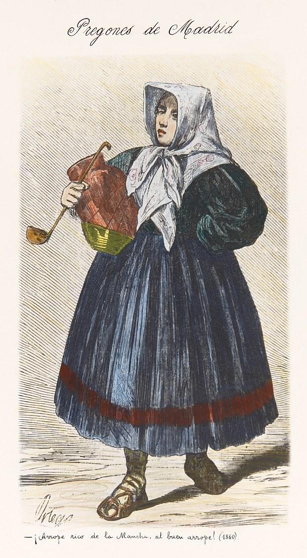 Vendedora de arrope