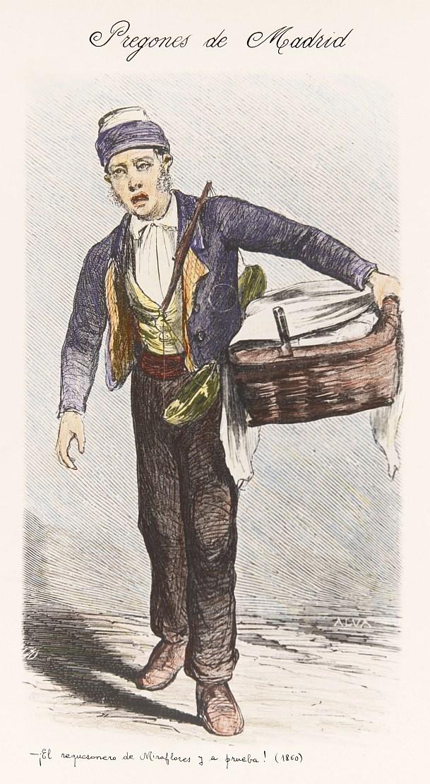 El vendedor de requesón