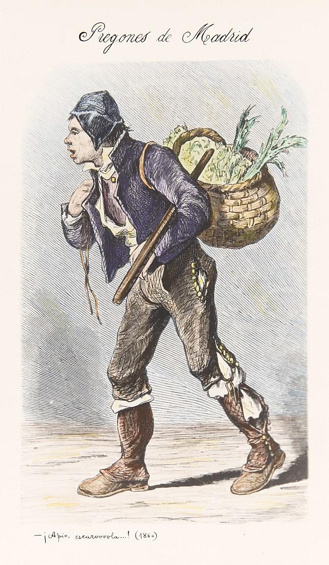 El vendedor de apio y escarola