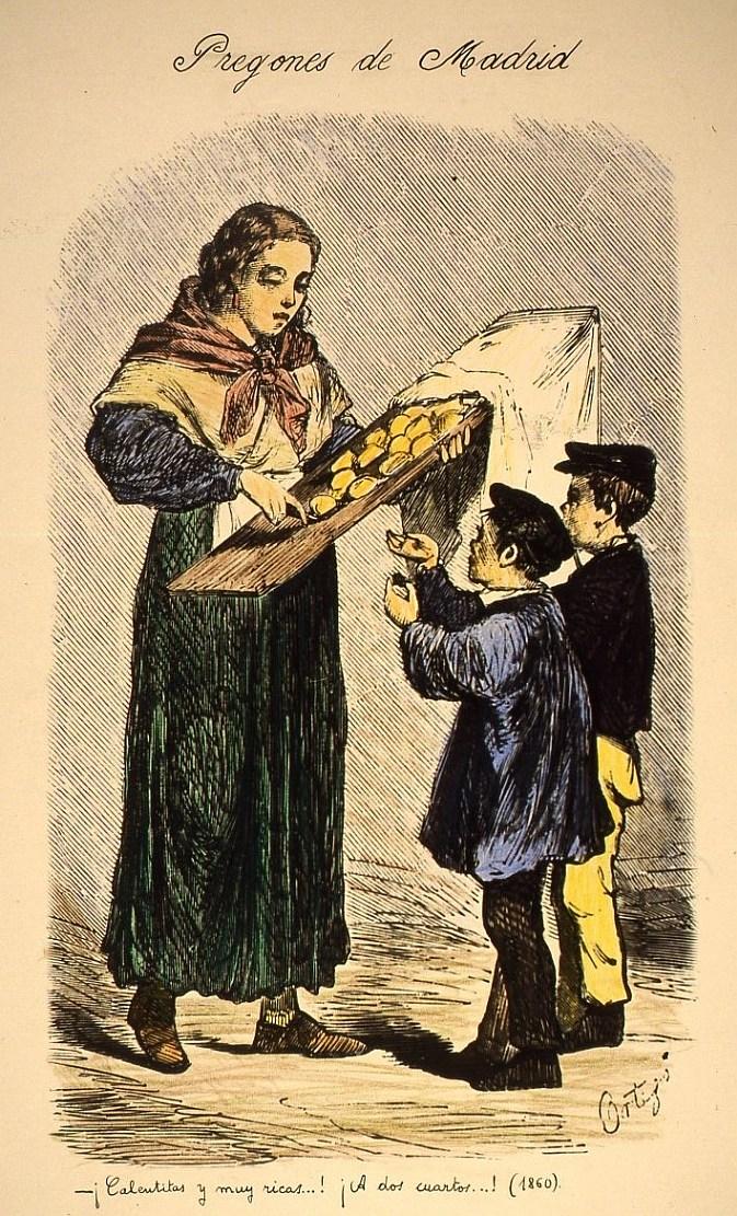 La vendedora de pasteles