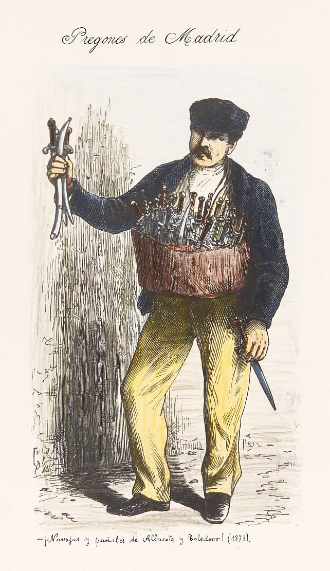 Vendedor de navajas y puñales