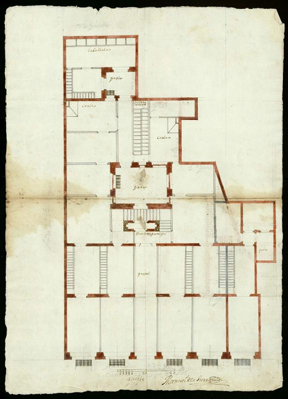 Licencia a Don Manuel de Pereda, para construir una casa en la Puerta del Sol