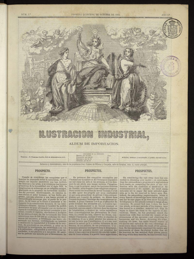 Ilustración Industrial: álbum de importación