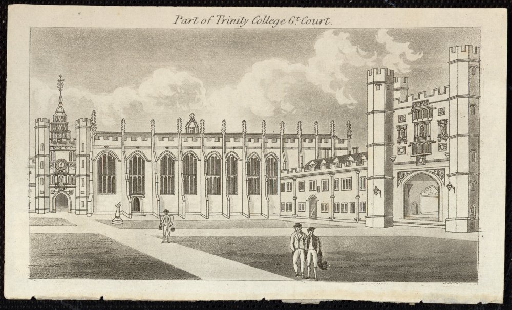 Part of Trinity College Great Court